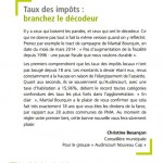 christine Besançon - tribune 01.02 .14