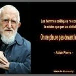 Christine besançon -abbé Pierre