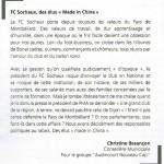 tribune Christine Besançon