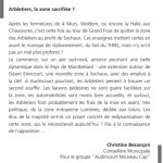 Arbletiers- Audicourt .Christine Besançon