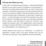 Christine besançon .tribune